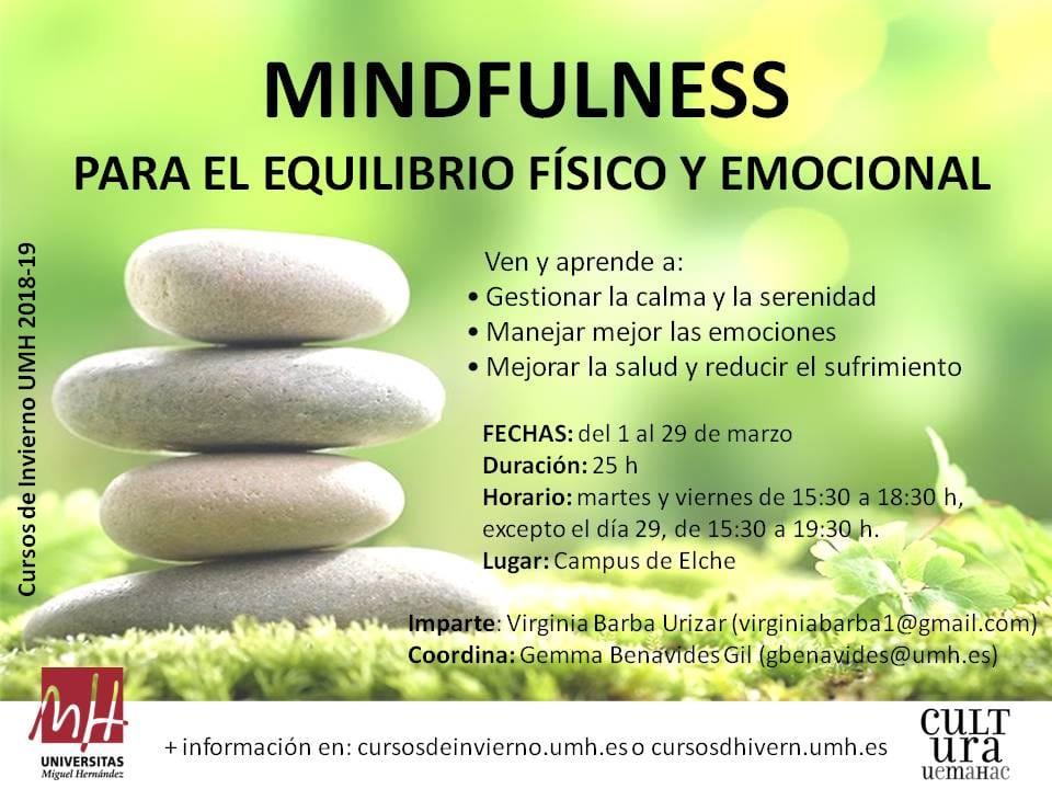 Curso de Mindfulness para el equilibrio físico y emocional 4